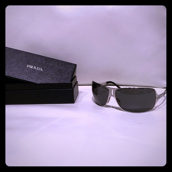 Prada Other - Genuine Prada Sunglasses - Chrome and Black
